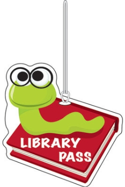 Library Pass Now Required During Recess Lunch