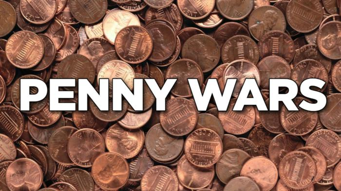 Image result for penny wars""